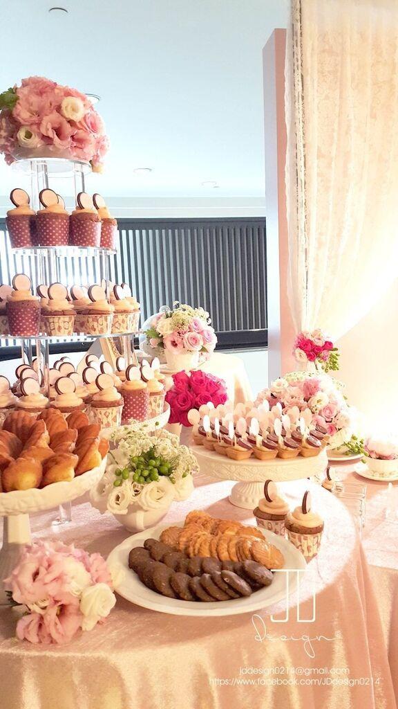 甜美氣質婚禮佈置JD Design 及甜點桌Candy Bar 好味生活Funeats  (45)