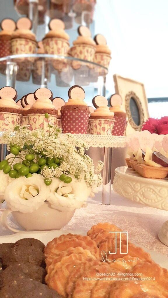 甜美氣質婚禮佈置JD Design 及甜點桌Candy Bar 好味生活Funeats  (39)