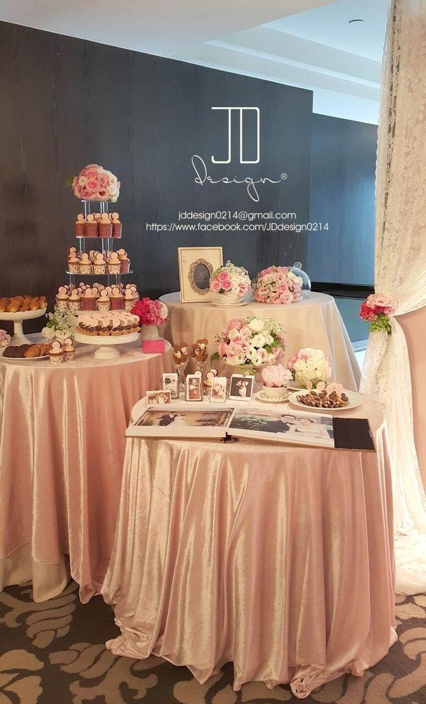 甜美氣質婚禮佈置JD Design 及甜點桌Candy Bar 好味生活Funeats  (40)