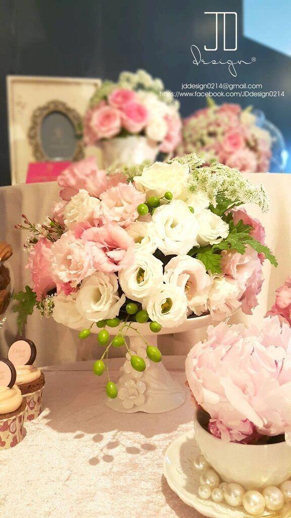 甜美氣質婚禮佈置JD Design 及甜點桌Candy Bar 好味生活Funeats  (44)