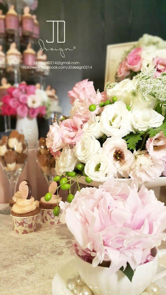 甜美氣質婚禮佈置JD Design 及甜點桌Candy Bar 好味生活Funeats  (46)