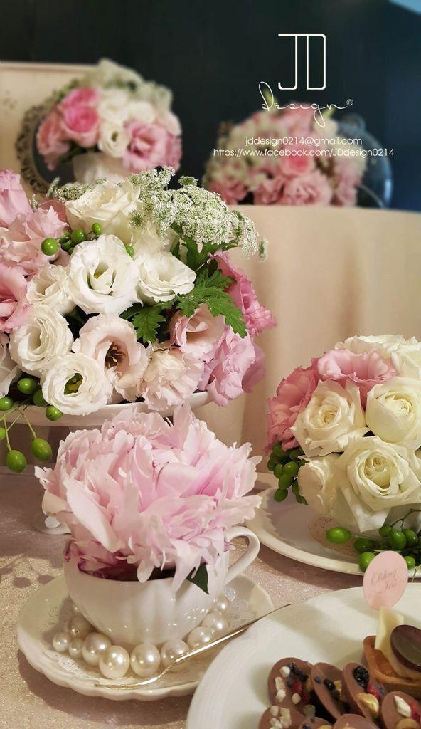 甜美氣質婚禮佈置JD Design 及甜點桌Candy Bar 好味生活Funeats  (47)