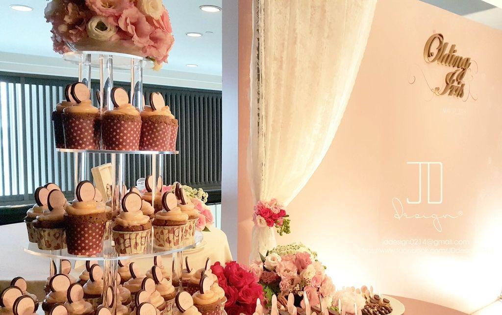 甜美氣質婚禮佈置JD Design 及甜點桌Candy Bar 好味生活Funeats  (43)