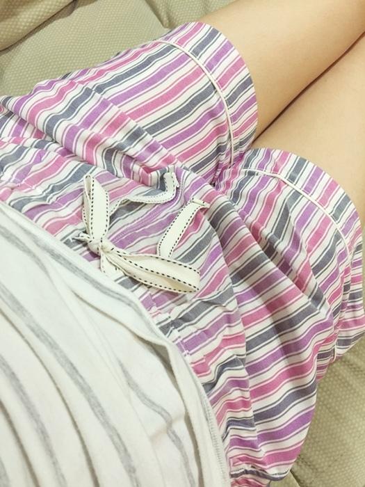 Uniqlo家居服家居褲steteco relaco短褲七分褲 (40)