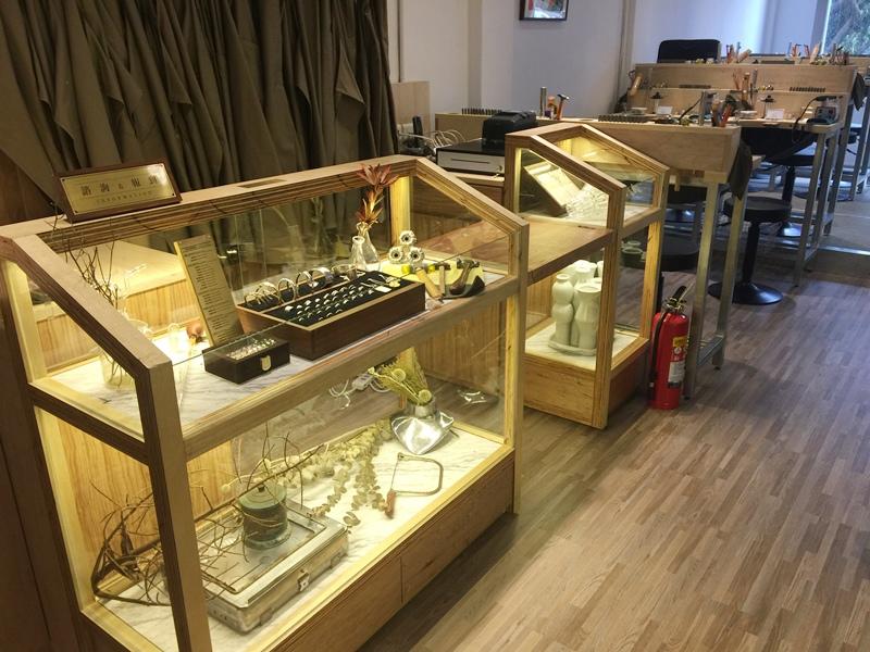草山金工公園店 一日手作 敲敲打打金光閃閃湯匙DIY Grass Hill Jewelry KINJO CAFE慶祝咖啡店 (46)