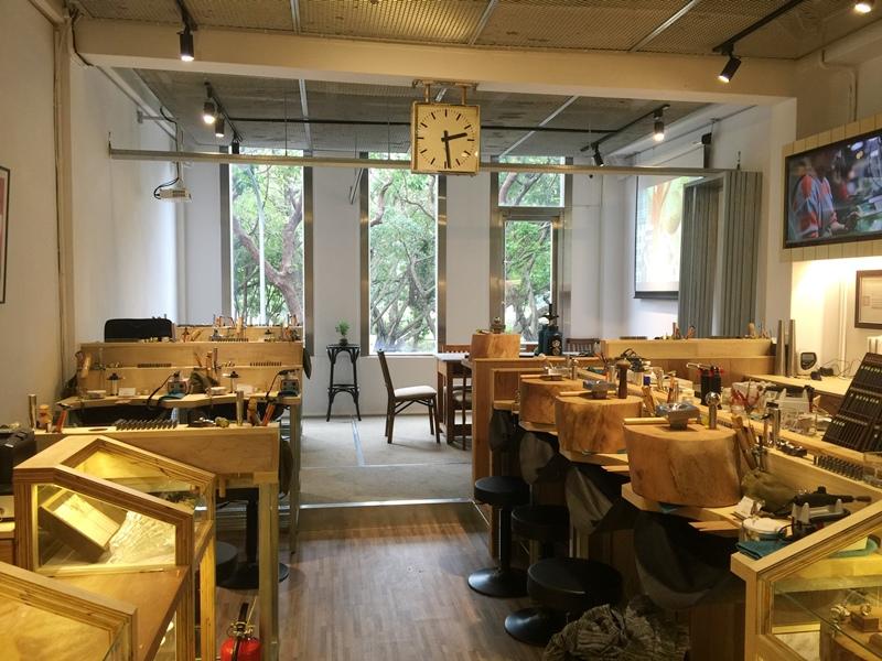 草山金工公園店 一日手作 敲敲打打金光閃閃湯匙DIY Grass Hill Jewelry KINJO CAFE慶祝咖啡店 (48)