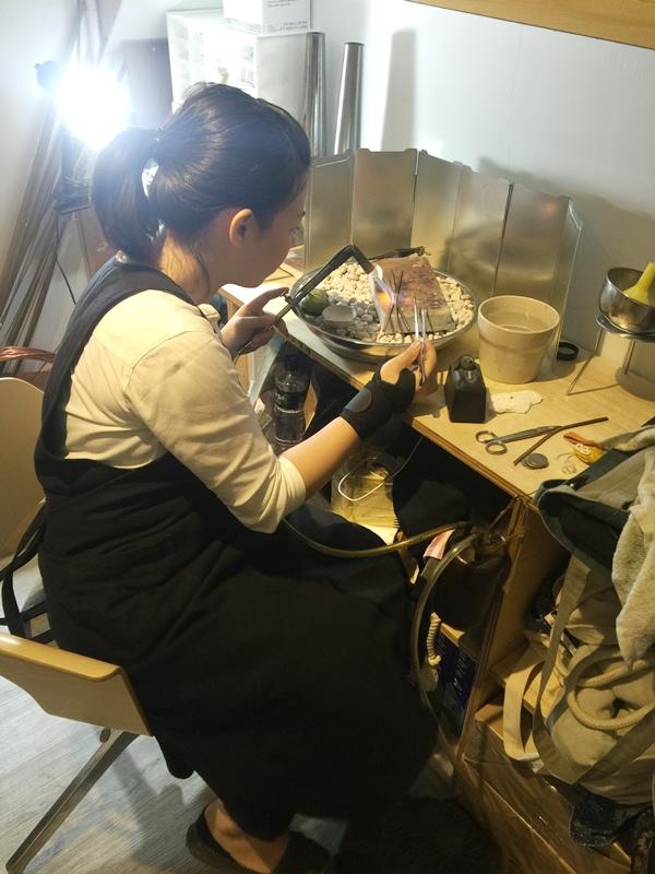 草山金工公園店 一日手作 敲敲打打金光閃閃湯匙DIY Grass Hill Jewelry KINJO CAFE慶祝咖啡店 (44)