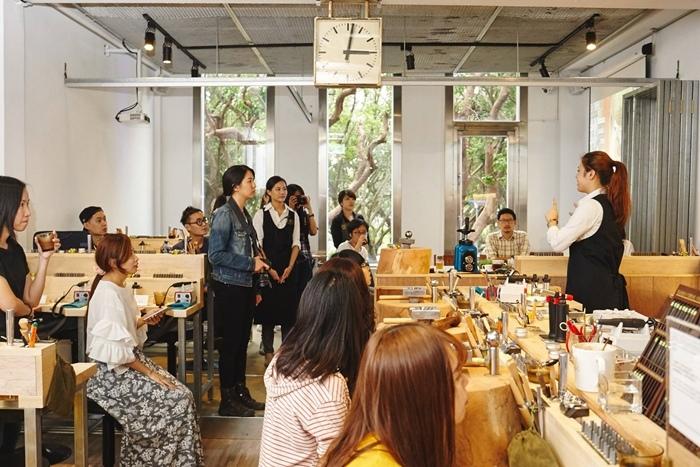 草山金工公園店 一日手作 敲敲打打金光閃閃湯匙DIY Grass Hill Jewelry KINJO CAFE慶祝咖啡店 (11)