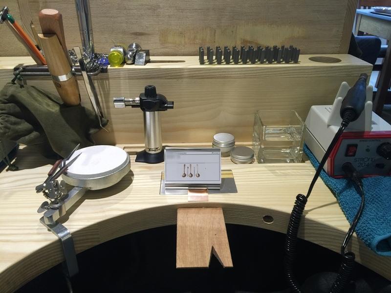 草山金工公園店 一日手作 敲敲打打金光閃閃湯匙DIY Grass Hill Jewelry KINJO CAFE慶祝咖啡店 (57)