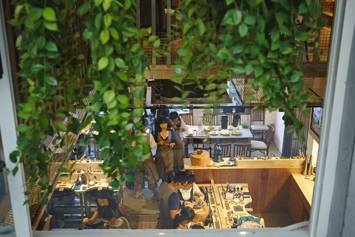 草山金工公園店 一日手作 敲敲打打金光閃閃湯匙DIY Grass Hill Jewelry KINJO CAFE慶祝咖啡店 (14)