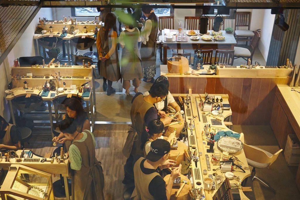 草山金工公園店 一日手作 敲敲打打金光閃閃湯匙DIY Grass Hill Jewelry KINJO CAFE慶祝咖啡店 (5)