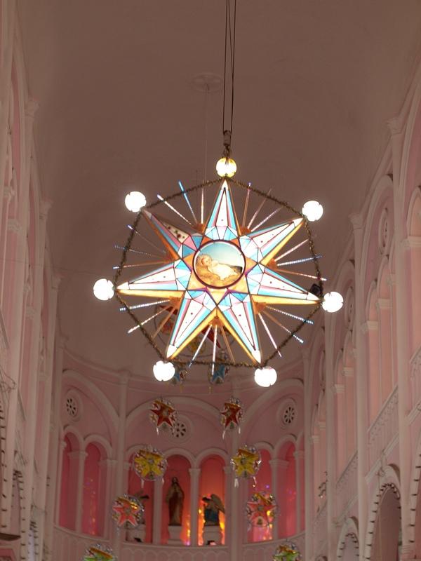 自己拍婚紗-越南自助婚紗-胡志明市粉紅教堂新定教堂西貢耶穌聖心堂拍婚紗-淘寶婚紗 (131)