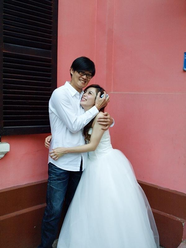 自己拍婚紗-越南自助婚紗-胡志明市粉紅教堂新定教堂西貢耶穌聖心堂拍婚紗-淘寶婚紗 (139)