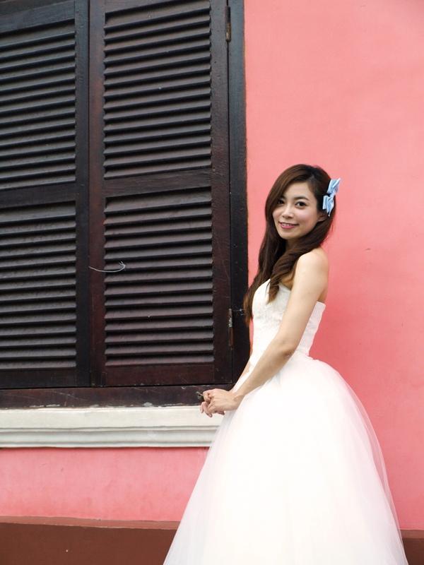 自己拍婚紗-越南自助婚紗-胡志明市粉紅教堂新定教堂西貢耶穌聖心堂拍婚紗-淘寶婚紗 (113)