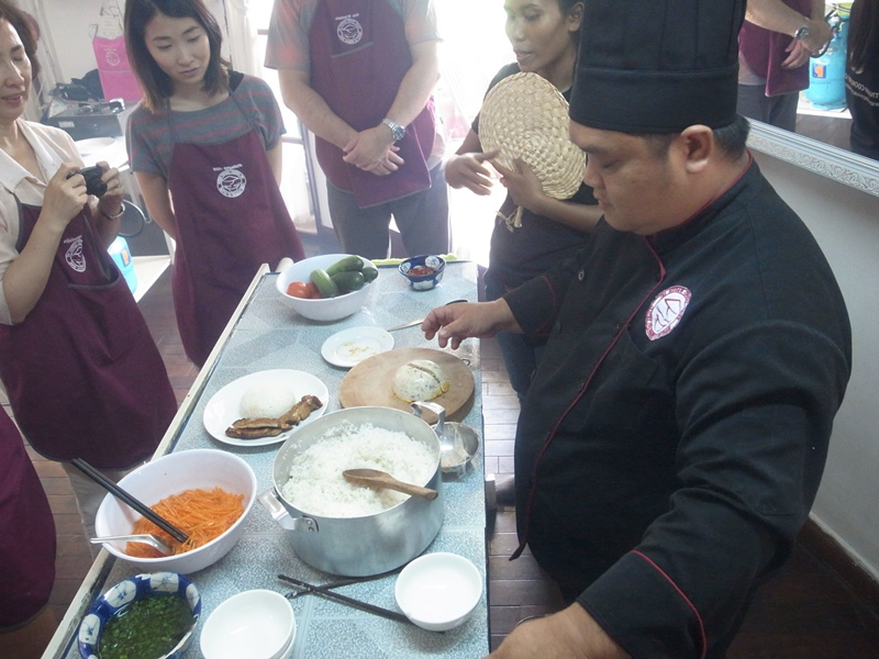 越南廚藝學院學做菜-Vietnam越南旅遊胡志明市第一郡-Vietnam Cookery Center-Cooking Class Saigon (133)