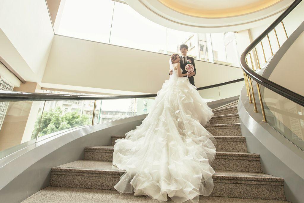 晶華夢幻婚禮Wedding 婚禮造型三套白紗婚紗禮服-攝影婚攝之玲-新秘Bona (37)