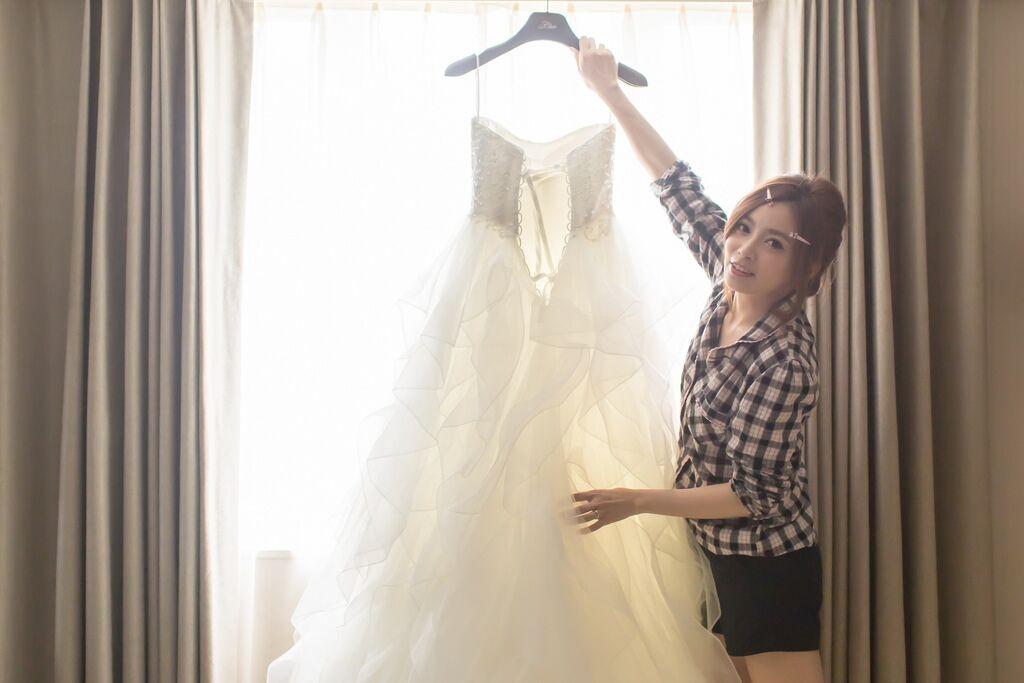 晶華夢幻婚禮Wedding 婚禮造型三套白紗婚紗禮服-攝影婚攝之玲-新秘Bona (12)