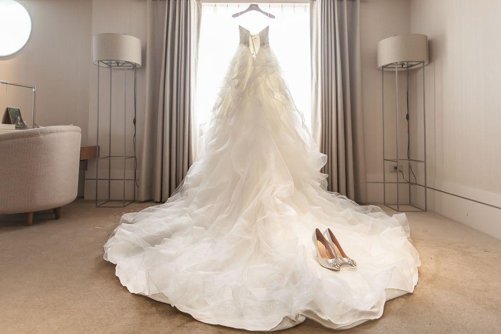 晶華夢幻婚禮Wedding 婚禮造型三套白紗婚紗禮服-攝影婚攝之玲-新秘Bona (11)