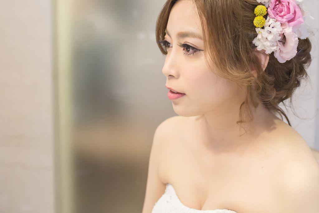晶華夢幻婚禮Wedding 婚禮造型三套白紗婚紗禮服-攝影婚攝之玲-新秘Bona (16)