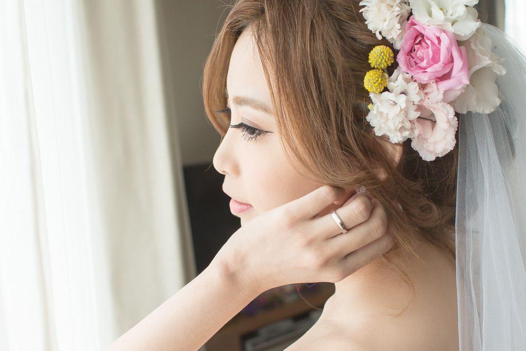 晶華夢幻婚禮Wedding 婚禮造型三套白紗婚紗禮服-攝影婚攝之玲-新秘Bona (19)