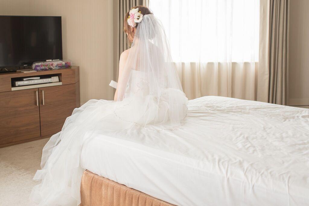 晶華夢幻婚禮Wedding 婚禮造型三套白紗婚紗禮服-攝影婚攝之玲-新秘Bona (24)
