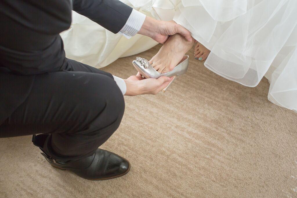 晶華夢幻婚禮Wedding 婚禮造型三套白紗婚紗禮服-攝影婚攝之玲-新秘Bona (27)