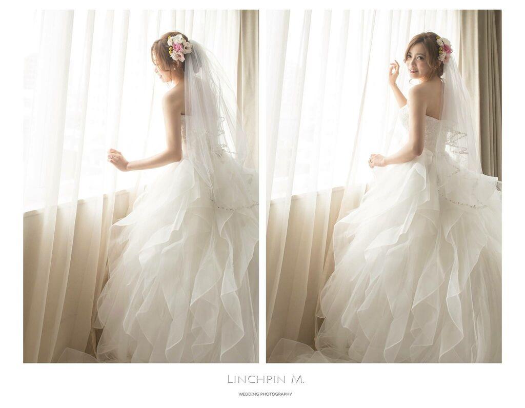 晶華夢幻婚禮Wedding 婚禮造型三套白紗婚紗禮服-攝影婚攝之玲-新秘Bona (1)