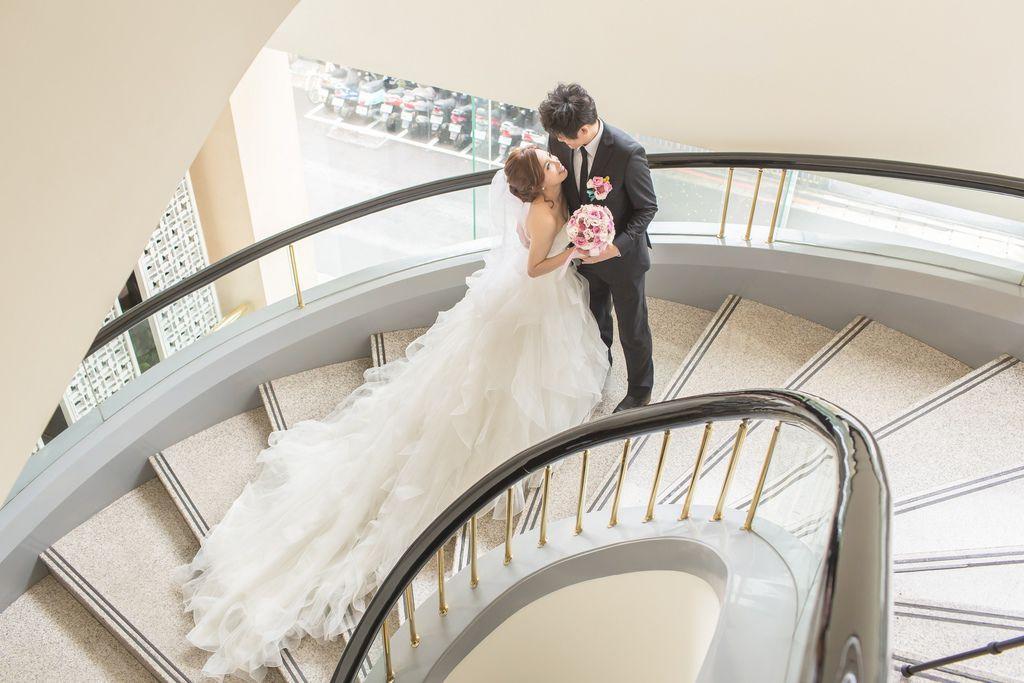 晶華夢幻婚禮Wedding 婚禮造型三套白紗婚紗禮服-攝影婚攝之玲-新秘Bona (35)
