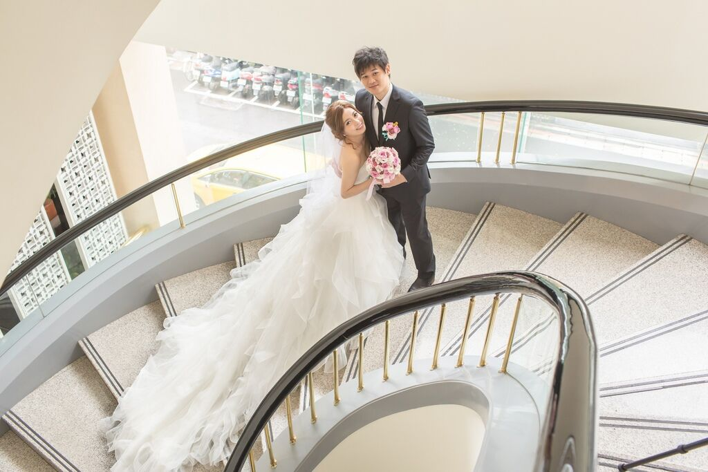 晶華夢幻婚禮Wedding 婚禮造型三套白紗婚紗禮服-攝影婚攝之玲-新秘Bona (36)