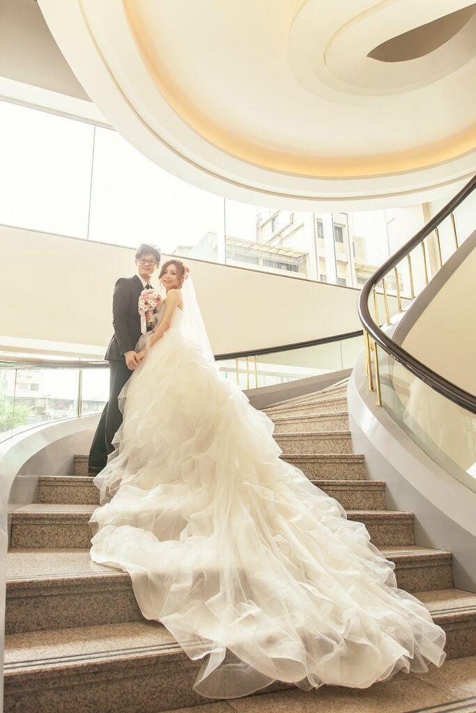 晶華夢幻婚禮Wedding 婚禮造型三套白紗婚紗禮服-攝影婚攝之玲-新秘Bona (34)