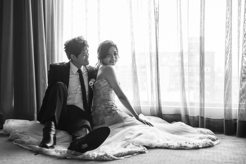 晶華夢幻婚禮Wedding 婚禮造型三套白紗婚紗禮服-攝影婚攝之玲-新秘Bona (49)