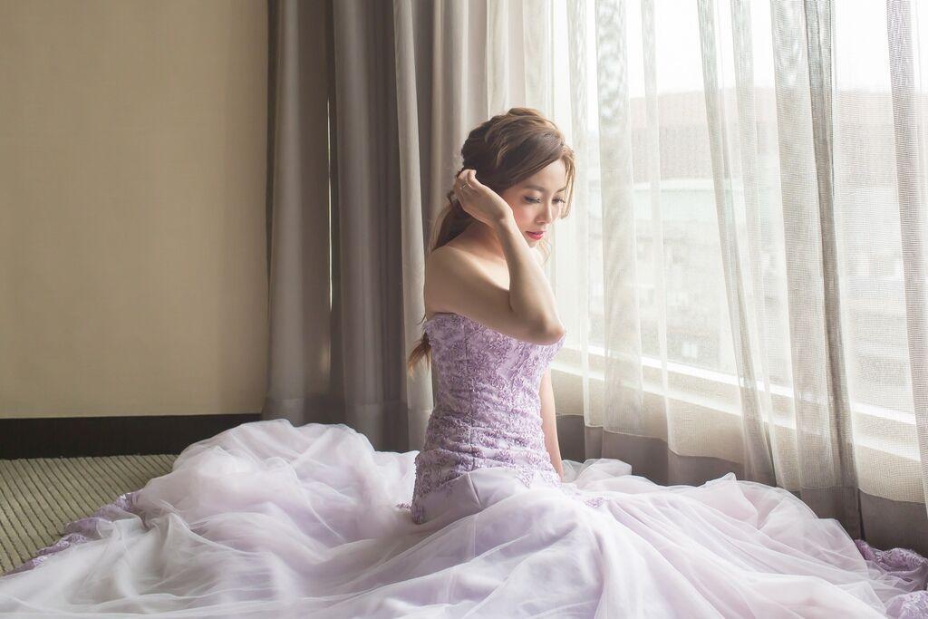 晶華夢幻婚禮Wedding 婚禮造型三套白紗婚紗禮服-攝影婚攝之玲-新秘Bona (48)