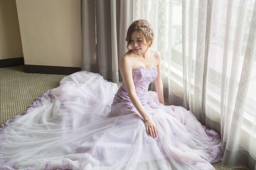 晶華夢幻婚禮Wedding 婚禮造型三套白紗婚紗禮服-攝影婚攝之玲-新秘Bona (46)