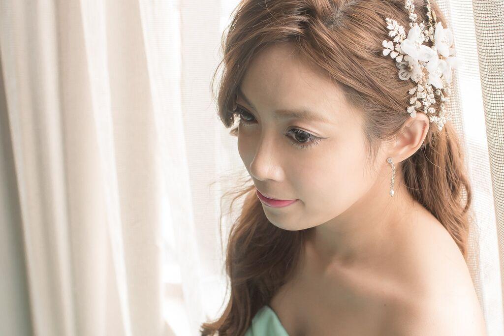 晶華夢幻婚禮Wedding 婚禮造型三套白紗婚紗禮服-攝影婚攝之玲-新秘Bona (57)