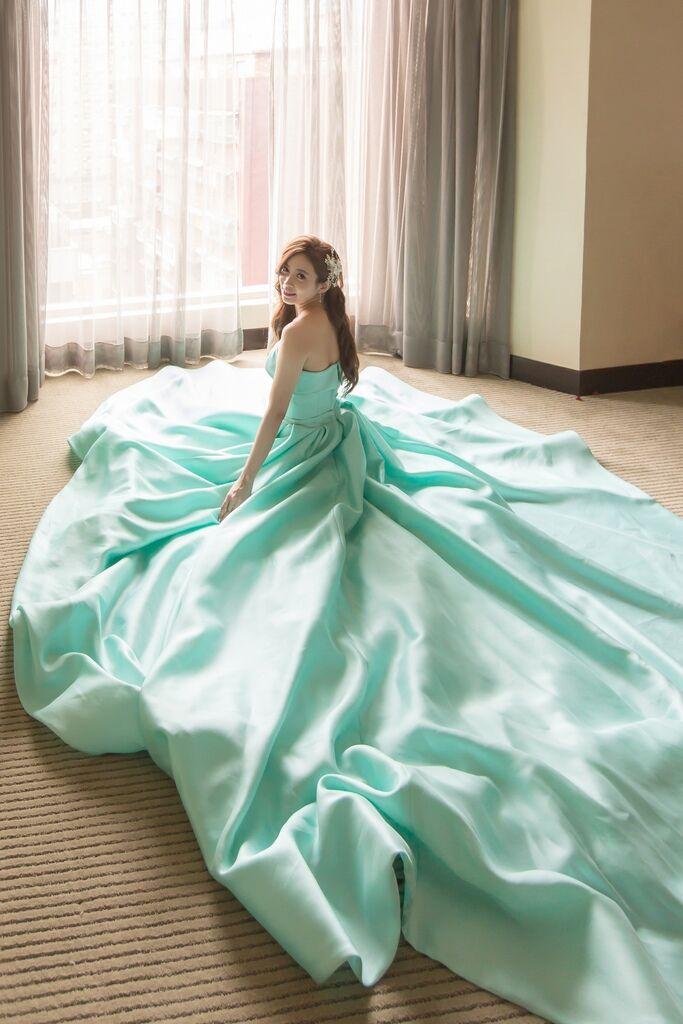晶華夢幻婚禮Wedding 婚禮造型三套白紗婚紗禮服-攝影婚攝之玲-新秘Bona (62)