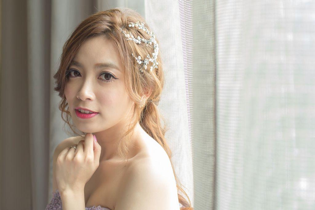 晶華夢幻婚禮Wedding 婚禮造型三套白紗婚紗禮服-攝影婚攝之玲-新秘Bona (52)