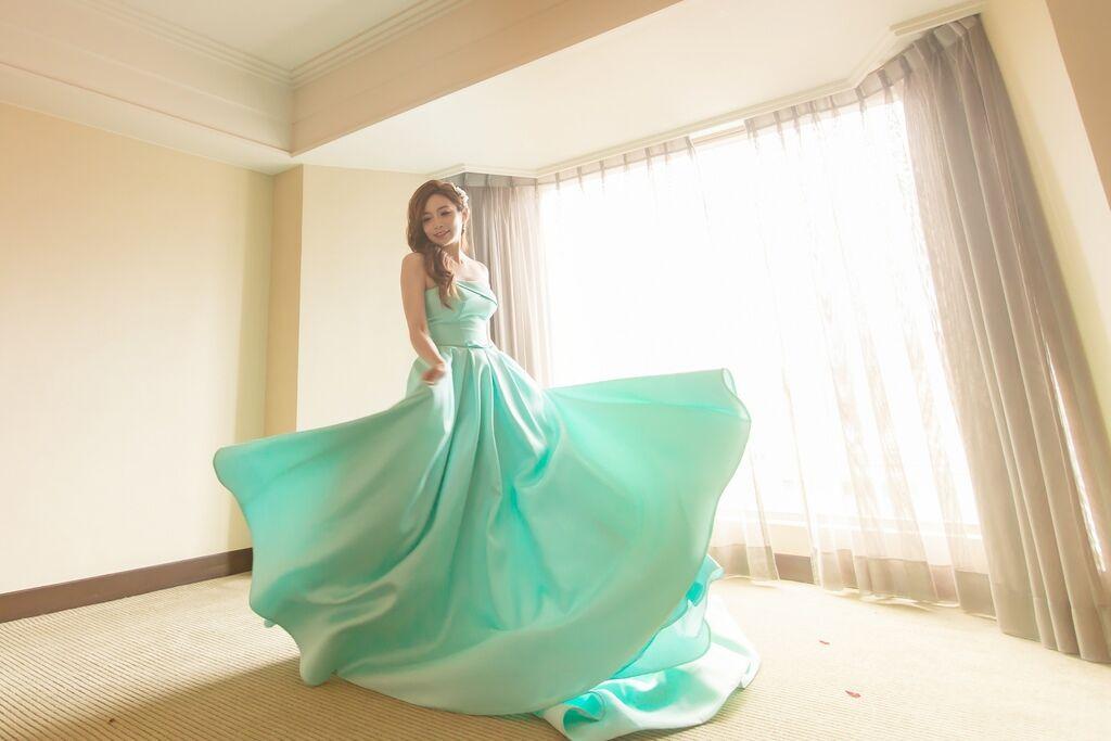 晶華夢幻婚禮Wedding 婚禮造型三套白紗婚紗禮服-攝影婚攝之玲-新秘Bona (65)