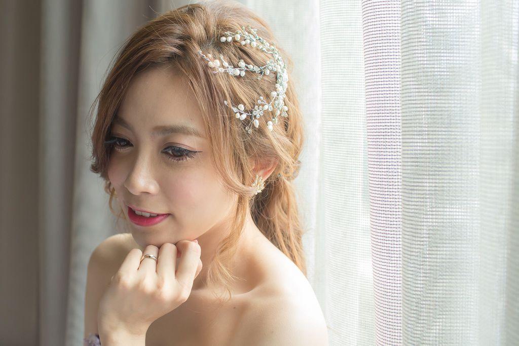 晶華夢幻婚禮Wedding 婚禮造型三套白紗婚紗禮服-攝影婚攝之玲-新秘Bona (51)