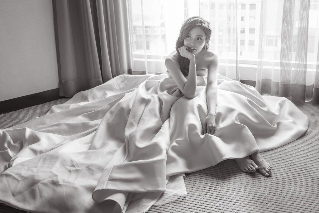 晶華夢幻婚禮Wedding 婚禮造型三套白紗婚紗禮服-攝影婚攝之玲-新秘Bona (60)