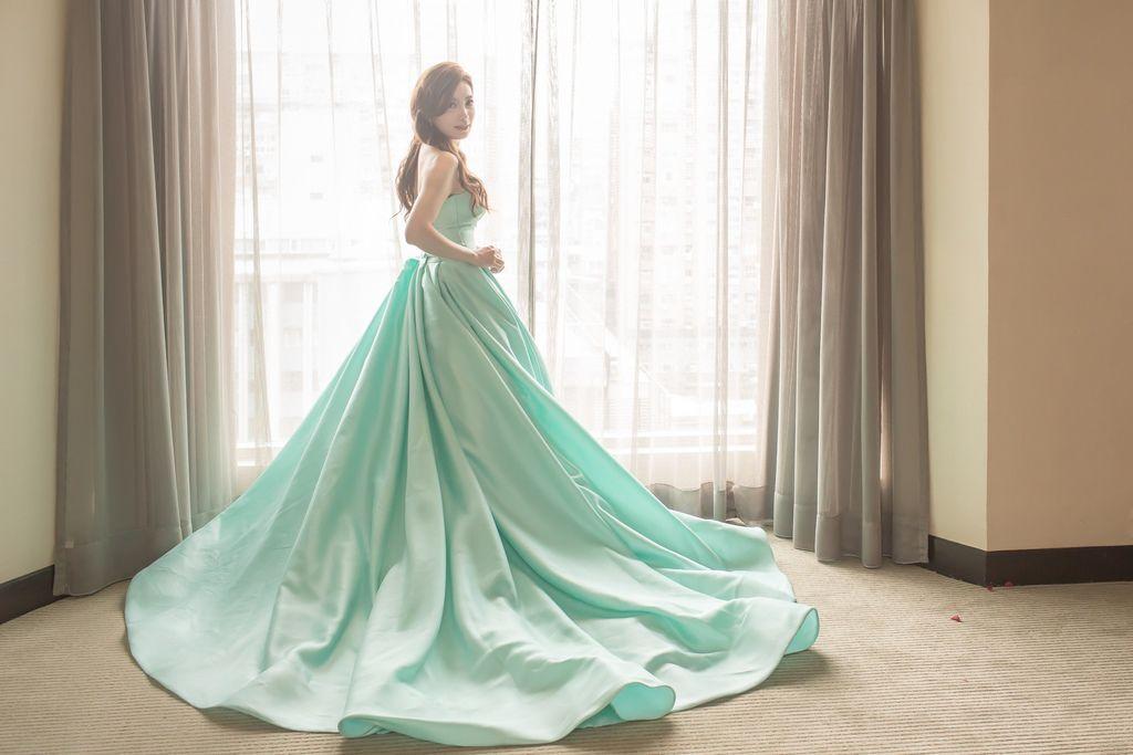 晶華夢幻婚禮Wedding 婚禮造型三套白紗婚紗禮服-攝影婚攝之玲-新秘Bona (55)