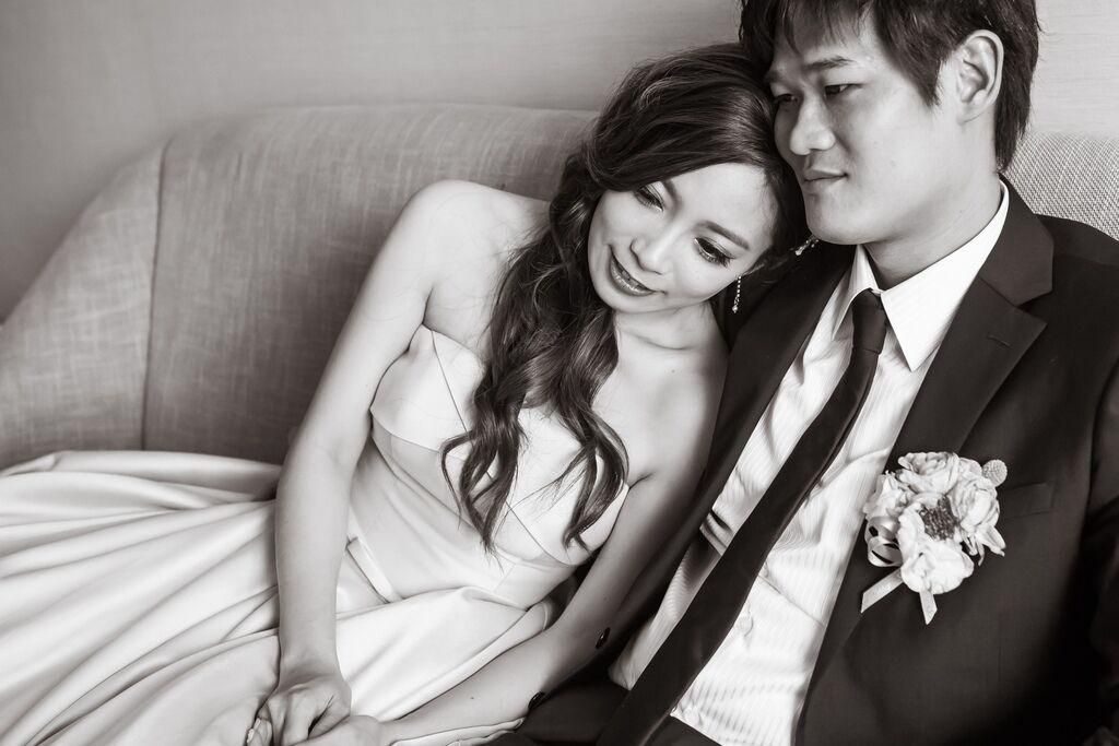 晶華夢幻婚禮Wedding 婚禮造型三套白紗婚紗禮服-攝影婚攝之玲-新秘Bona (54)