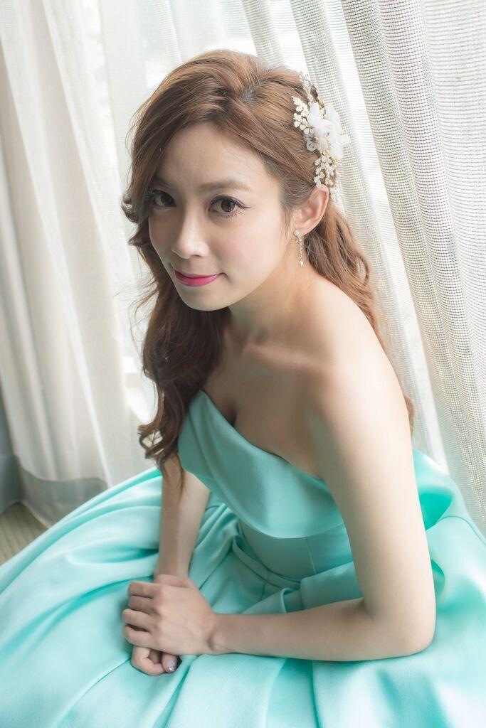 晶華夢幻婚禮Wedding 婚禮造型三套白紗婚紗禮服-攝影婚攝之玲-新秘Bona (58)
