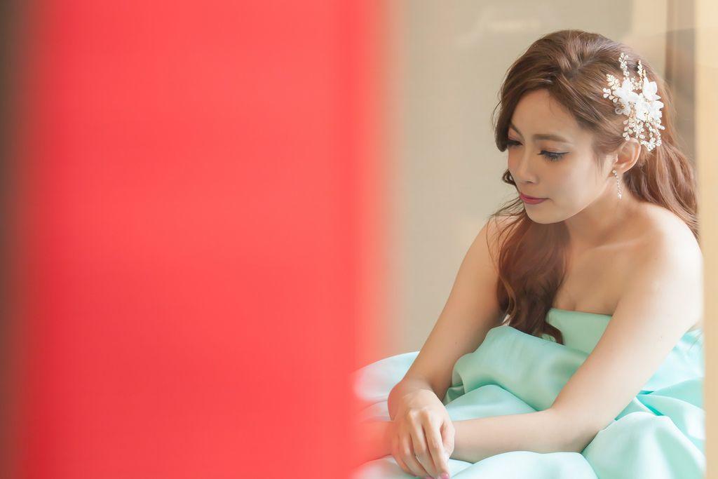 晶華夢幻婚禮Wedding 婚禮造型三套白紗婚紗禮服-攝影婚攝之玲-新秘Bona (59)