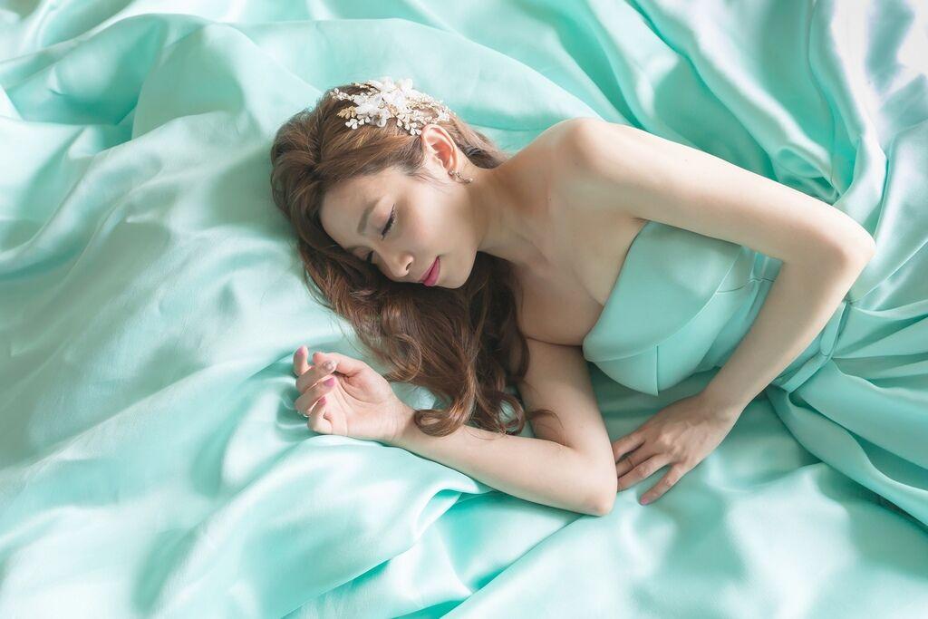 晶華夢幻婚禮Wedding 婚禮造型三套白紗婚紗禮服-攝影婚攝之玲-新秘Bona (63)