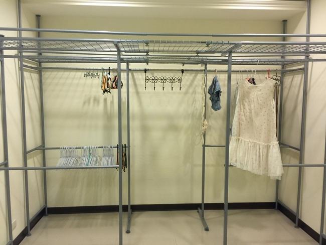 低成本簡易更衣間walkin closet-1 (3)