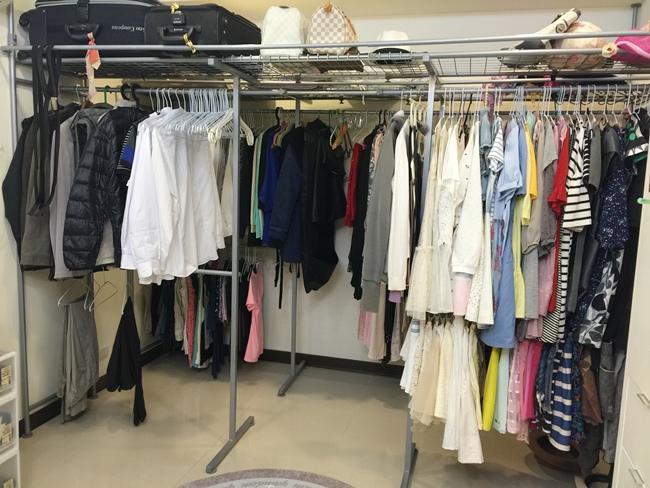 低成本簡易更衣間walkin closet (6)