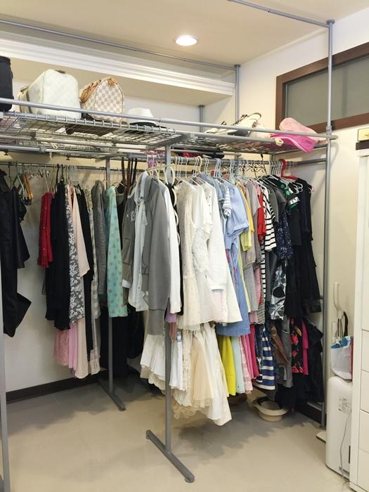 低成本簡易更衣間walkin closet (2)