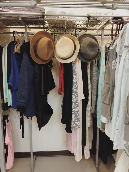低成本簡易更衣間walkin closet (16)