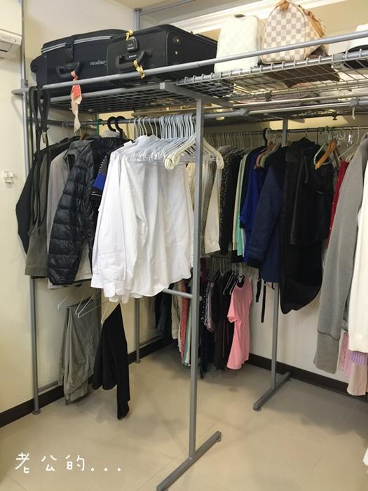 低成本簡易更衣間walkin closet (4)
