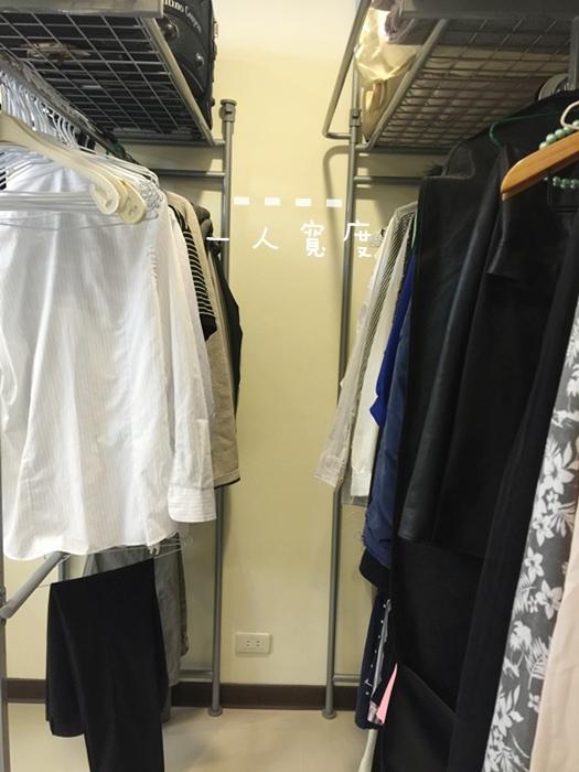 低成本簡易更衣間walkin closet (7)